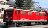 Swiss Electric Locomotive Ge 4/4 I 603 Badu of the RhB