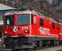 Swiss Electric Locomotive Ge 4/4 II 628 of the RhB