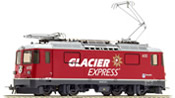 Swiss Electric locomotive Ge 4/4 II 623 Glacier Express of the RhB