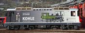 Swiss Electric Donation Locomotive Ge 4/4 II 616 Kohle of the RhB