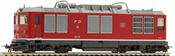 Swiss Diesel Locomotive Reihe HGm 4/4 of the FO