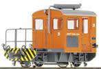 Swiss Diesel Shunting Locomotive Tm 2/2 16 of the RHB