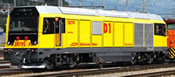 Swiss Diesel Locomotive Gmf 287 01 D1 of the RhB