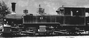 Swiss Steam Locomotive G 2/2 + 2/3 23