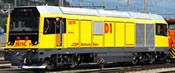 Swiss Diesel Locomotive Gmf 287 01 D1 of the RhB (DCC Sound Decoder)