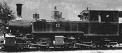 Swiss Steam Locomotive G 2/2 + 2/3 23