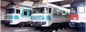 German Diesel Railcar Class 624 632/624 678 of the DB AG
