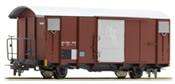 Covered freight car (Velowagen) Gbv 4433 of the MGB