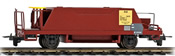 Ballast Wagon Xc 9418 of the Rhb