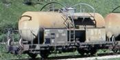 Swiss Tank Car P 8911 of the SBB