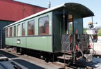 2nd Class Passenger Coach O 166 Stg