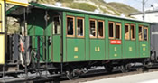 Swiss Passenger Car L.D. C. 32 of the Landquart-Davos Bahn