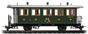 Two-axle passenger coach C.61. the LD