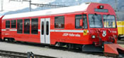 Swiss Cab Control Car BDt 1755 of the RhB
