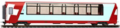 1st Class Panorama Passenger Coach Ap 1314 Glacier-Express