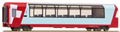 2nd Class Panorama Passenger Coach Bp 2535 Glacier-Express