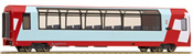 2nd Class Panorama Passenger Coach Bp 2538 Glacier-Express