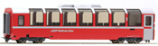 2nd Class Panorama Passenger Coach Bp 2521 Bernina-Express
