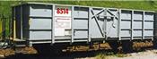 Steel wall high sidecar Fb 8514 of the RhB