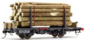Stake Wagen with Log Load Type Kk-w