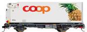 Coop-Containerwagen Ananas Bauart Lb-v