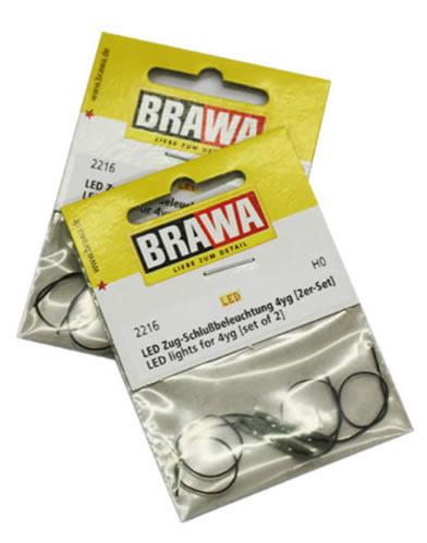 Brawa 2217 - LED lights for Passenger Coaches 3yg, set of 2