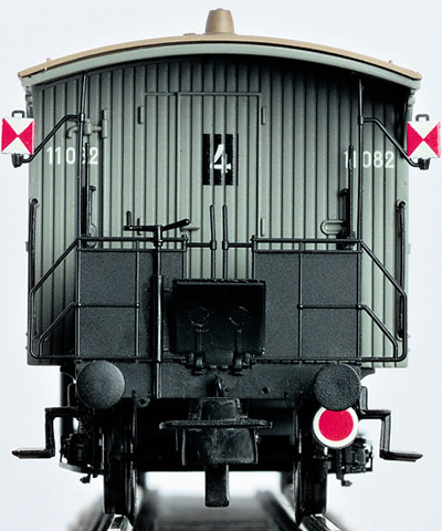 Brawa 2230 - H0 Railing with rear signal l