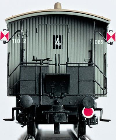 Brawa 2230 - H0 Railing with rear signal l