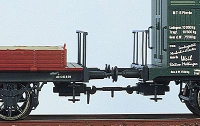 Brawa 2250 - H0 Rigid coupling [set of 10]