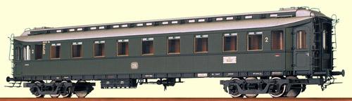 Brawa 2448 - Personenwagen eiserne Bauart DB 19 933, 2.Kl., III