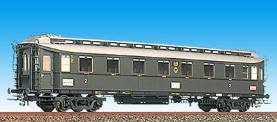 Brawa 2451 - Personenwagen eiserne Bauart DRG 15 461, 2.Kl., II