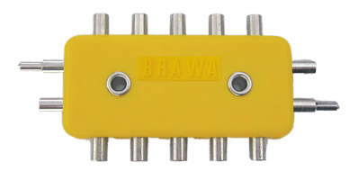 Brawa 2593 - Junction Block [5-piece], 2-p