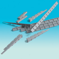 Brawa 2697 - N Platform Edges [10 pieces]