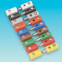 Brawa 3005 - Plug, blue [100 pieces]