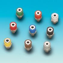 Brawa 3085 - Panel-mounted socket, blue