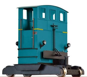 Brawa 31001 - O Scale Breuer Shunting Locomotive