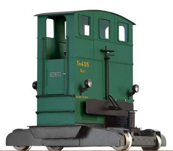 Brawa 31002 - O Scale Breuer Shunting Locomotive