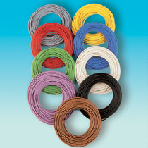 Brawa 3105 - Wire 0,14 mm², 10 m ring, blue