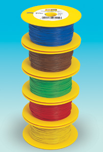 Brawa 3115 - Wire 0,14 mm², 100 m drum, bl