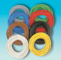 Brawa 3123 - Dbl-Wire 0,14 mm², 5 m ring,