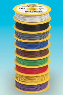 Brawa 3155 - Wire 0,14 mm², 25 m drum, blu