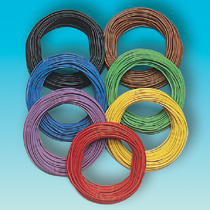 Brawa 3162 - Wire 0,08 mm², 10 m ring, red