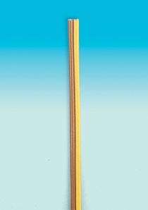 Brawa 3169 - Fl. Cable 0,14 mm², 5 m, rd/b