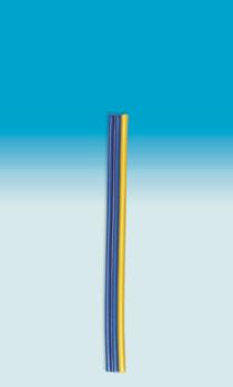 Brawa 3172 - Fl. Cable 0,14 mm², 5 m, bu/b