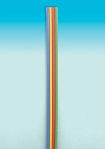 Brawa 3182 - Fl. Cable 0,14 mm², 5 m, bu/y
