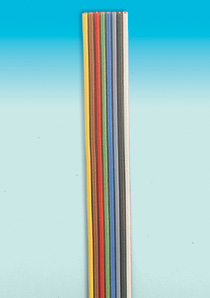 Brawa 3188 - Fl. Cable 0,14 5m ye/br/rd/gn