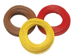 Brawa 3210 - Wire 0,25 mm², 25 m drum, yel
