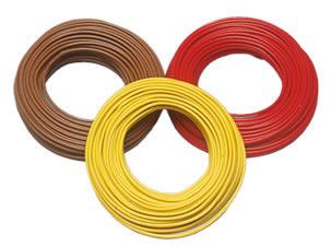 Brawa 3211 - Wire 0,25 mm², 25 m drum, red
