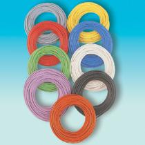 Brawa 32402 - Decoder Wire 0,05 mm², 10 m red