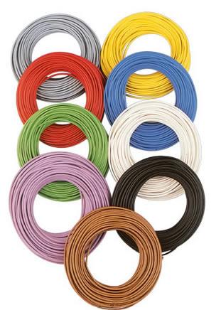 Brawa 32404 - Decoder Wire 0,05 mm², 10 m brown